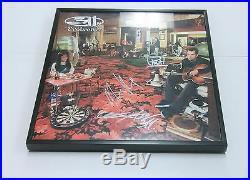 311 Band SIGNED + FRAMED Evolver Vinyl Record Album
