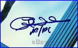 AC/DC (4) Angus, Malcom, +2 Signed Who Made Who Album Cover With Vinyl PSA #Q02572