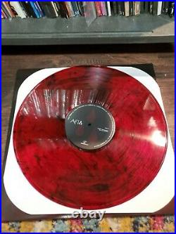 AFI ENTIRE BAND AUTOGRAPHED AFI (The Blood Album) Vinyl LP Colored Vinyl