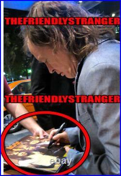 ANGUS YOUNG signed AC/DC HIGHWAY TO HELL VINYL ALBUM LP EXACT PROOF COA