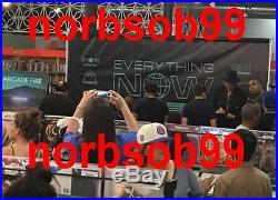 ARCADE FIRE SIGNED AUTOGRAPH SUBURBS VINYL ALBUM WIN BUTLER +5 wEXACT PROOF ALL6