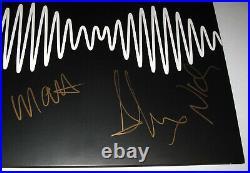ARCTIC MONKEYS All 4 MEMBERS signed AM VINYL ALBUM LP PROOF Alex Turner COA