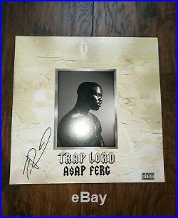 ASAP FERG SIGNED AUTOGRAPHED (TRAP LORD) ALBUM VINYL LP ASAP ROCKY with COA