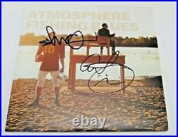 ATMOSPHERE Hip Hop Slug + Ant SIGNED Fishing Blues Vinyl Record Album