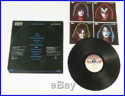 Ace Frehley KISS Signed Autograph KISS Ace Frehley S/T Album Vinyl LP Solo