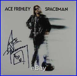 Ace Frehley Spaceman Signed Autograph Record JSA COA KISS Vinyl Album