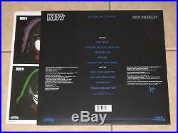 Ace Frehley signed KISS Solo 1978 2014 Reissue Album LP Record Vinyl Auto JSA
