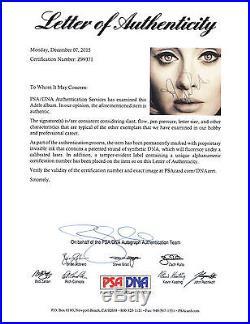 Adele Adkins Hello Signed Autograph 25 Vinyl Record Album VID Proof Psa/dna Coa