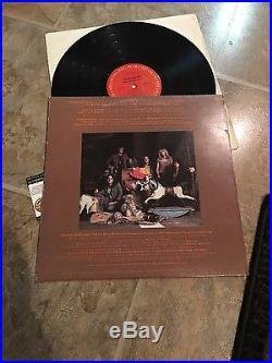 Aerosmith Complete Band Signed Toys InThe Attic Vinyl Lp Record Album Coa nice
