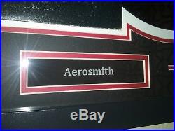 Aerosmith Rocks Framed 5X Signed Autographed Vinyl Record Album LP COA Tyler