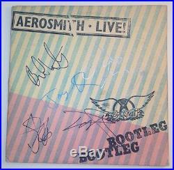 Aerosmith Steven Tyler Signed Autographed Bootleg Bootleg Album Vinyl COA PROOF