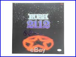 Alex Lifeson Signed Rush 2112 12x12 LP Album Autographed JSA COA