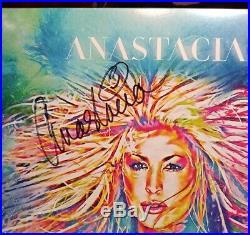 Anastacia A4APP Live Album AUTOGRAPHED LP vinyl SIGNED A 4 APP exclusive