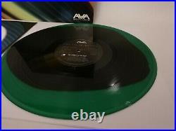 Angels Airwaves Vinyl Dream Walker Album with Signed Insert Green Black