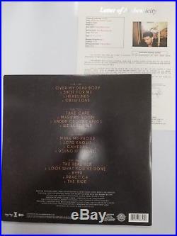 Aubrey Drake Graham Autographed Take Care Record Album Vinyl Signed JSA LOA RARE