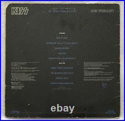 Autographed/Signed Kiss Ace Frehley Solo Album Vinyl