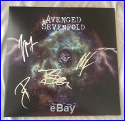 Avenged Sevenfold Signed Autographed The Stage Vinyl Album M. Shadows + COA