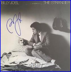 BILLY JOEL signed/autographed The Stranger Album with vinyl -JSA #M12996