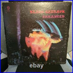 BLACK SABBATH signed vinyl album PARANOID GATEFOLD by 4 artists GREEN LABEL