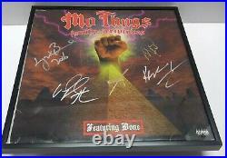 BONE THUGS N HARMONY Mo Thugs Family Scriptures SIGNED + FRAMED Vinyl Album