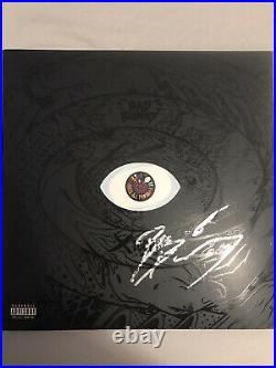Bad Bunny Signed Vinyl Record Colored Lp Album X 100pre Yhlqmdld Insanely Rare