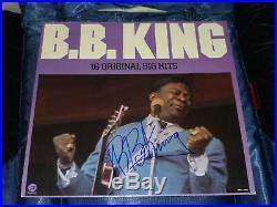 Bb King Autographed Record Lp Signed Record Vinyl Album Vintage Blues