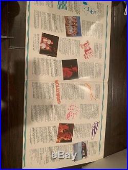 Beach Boys Autographed Vinyl Cover Album Brian Wilson Mike Love Record V106