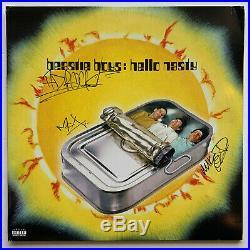 Beastie Boys Autographed hello nasty Vinyl Record Album signed all 3 Beckett BAS