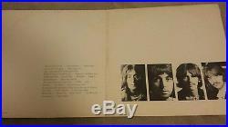 Beatles white album vinyl record lp autographed by Ringo Starr