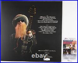 Billy Gibbons JSA Signed Autograph Record Album Vinyl ZZ Top The Big Bad Blues