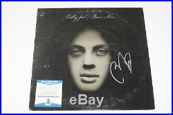 Billy Joel Signed'piano Man' Record Album Vinyl Lp Proof Beckett Bas Coa
