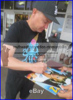 Blink-182 Mark Hoppus Autographed Enema of the State LP Vinyl Record Album Proof
