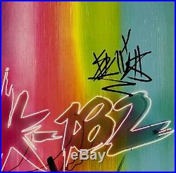 Blink 182 Travis Barker JSA Signed Autograph Album Vinyl Record Full Signed