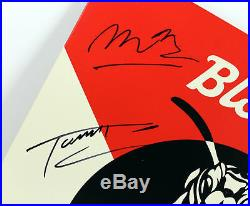 Blondie (6) Harry, Stein Band Signed Pollinator Album Cover With Vinyl BAS #A10813