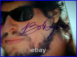 Bob Dylan Infidels Hand Signed Vinyl Album Certificate Of Authenticity Autograph