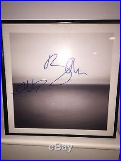 Bono & The Edge U2 Signed Album Cover With Vinyl Autograph No Line