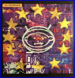 Bono U2 Signed Autographed Vinyl Album Record Lp Zooropa, Beckett Bas Coa