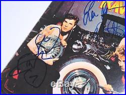 Brian Setzer STRAY CATS Signed Autograph Rant N' Rave Album Vinyl LP by 3