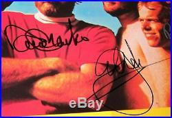 Brian Wilson THE BEACH BOYS Signed Autograph Endless Summer Album Vinyl LP x5