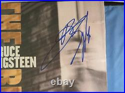 Bruce Springsteen Signed The Rising Vinyl Album PSA DNA COA LOA Autograph RARE