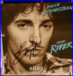 Bruce Springsteen Signed The River Vinyl Album Autographed