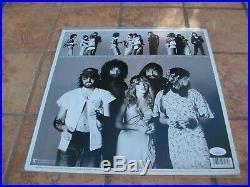 Buckingham J & C Mcvie Mick Signed Fleetwood Mac Rumors Lp Vinyl Album Jsa Coa