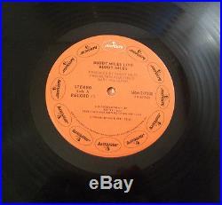 Buddy Miles Live 2 LP Vinyl Record Album SRM-2-7500 Mercury Autographed