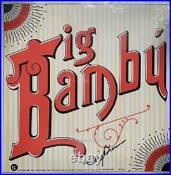 CHEECH & CHONG Big Bambu Vinyl LP + Rolling Paper ODE 1st Pressing 1972 SIGNED