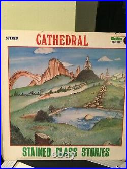 Cathedral Stained Glass Stories LP, Like New, Autographed Copy, Progressive Rock