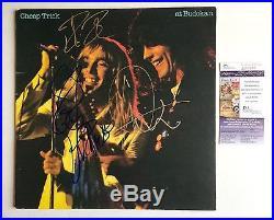 Cheap Trick Signed Autographed At Budokan Vinyl Album JSA COA PROOF