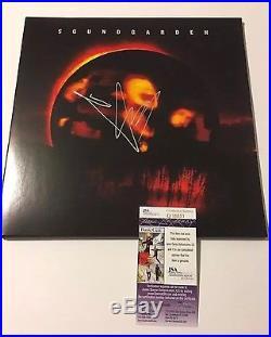 Chris Cornell Soundgarden Superunknown Black Hole Sun Jsa