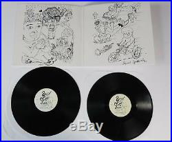 DANIEL JOHNSTON Signed Autograph YipJump Music Album Vinyl Record LP