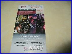 DAVID ALLAN COE signed/autographed UNDERGROUND ALBUM vinyl record JSA CERTIFIED