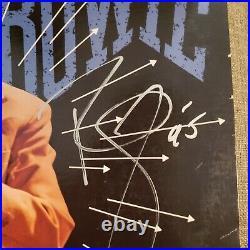 DAVID BOWIE signed vinyl album MODERN LOVE GOLD STAMP PROMO